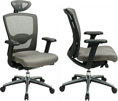 gray progrid high back mesh office chair 511342