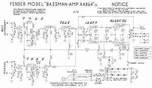 Modif Du Circuit De Bias D U0026 39 Un Fender Bassman Ten 1970