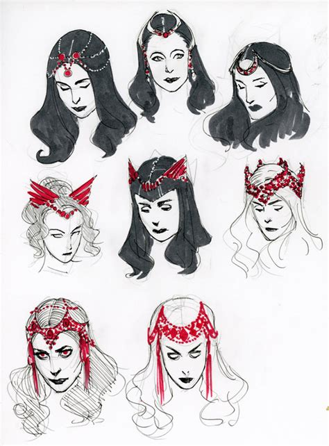 witch designs kevin wada opens up about scarlet witch design process newsarama com