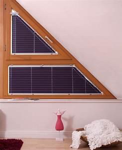 Plissee Mit Sonnenschutz : plisseerollos f r giebelfenster ~ Markanthonyermac.com Haus und Dekorationen