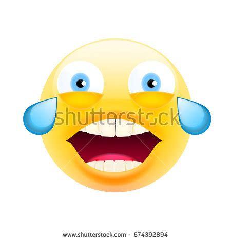 crying emoticon cartoon stock vector  shutterstock