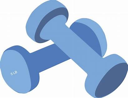 Clipart Weight Equipment Lifting Transparent Gym Fitness