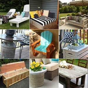 18 diy patio furniture ideas for an outdoor oasis With homemade garden furniture ideas