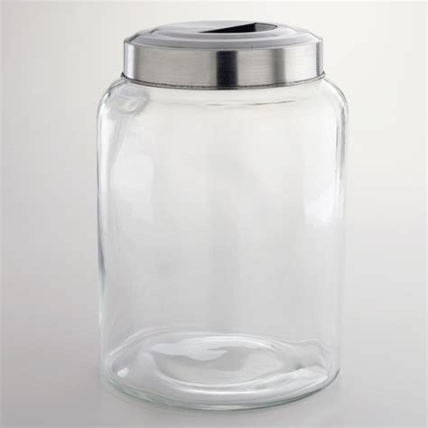 large glass kitchen storage jars large kitchen glass jar world market might be quot the quot one 8889