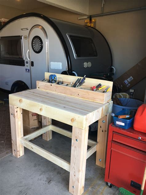 garage workbench   solid stuff  lumber top