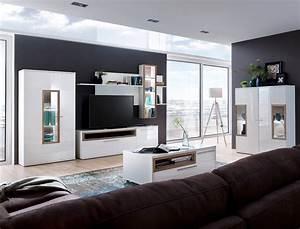Wohnzimmer Vitrine Weiß Hochglanz : vitrine parla 6 wei hochglanz 90x174x37 cm glasvitrine ~ Lateststills.com Haus und Dekorationen