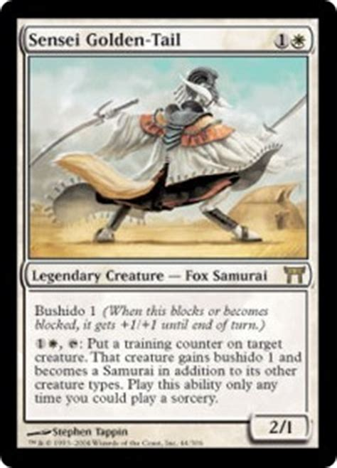 magic the gathering samurai deck build interlude standardizing samurai fish daily mtg magic