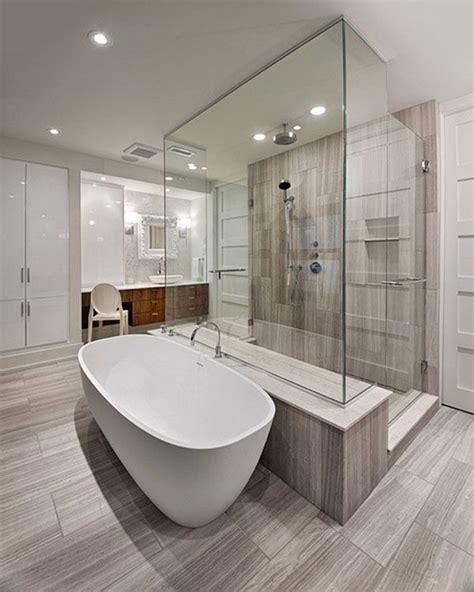 master bathroom idea combination walk  minimal shower
