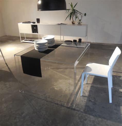 tavolo trasparente kartell kartell tavolo tavolo quadrato invisible kartell tavoli
