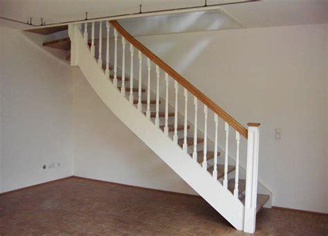 Treppengeländer Weiß Holz by Holzwangentreppen Kliegl Treppenbau