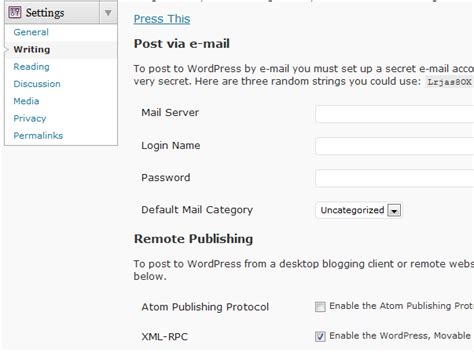 Xmlrpc In Wordpress