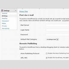 Xmlrpc In Wordpress