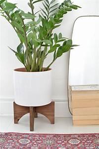 Diy, Mid, Century, Plant, Stand