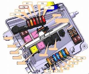 Opel Movano  2010 - 2017  - Fuse Box Diagram
