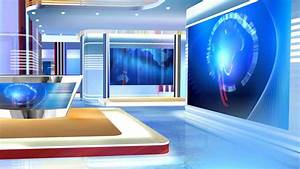 3d virtual sets free virtual news studio background red ...