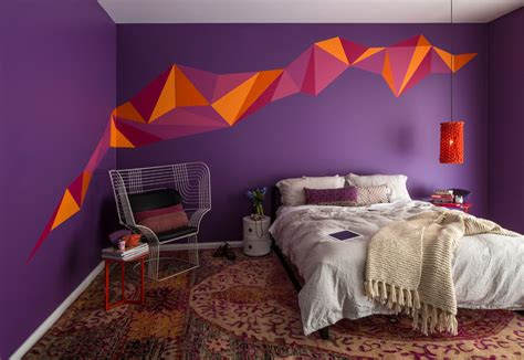23+ Bedroom Wall Paint Designs, Decor Ideas