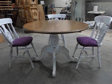 shabby chic dining table and chairs cheap top 50 shabby chic round dining table and chairs home decor ideas uk