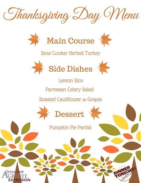 thanksgiving day menu ideas thanksgiving meal full menu ideas dinner tonight