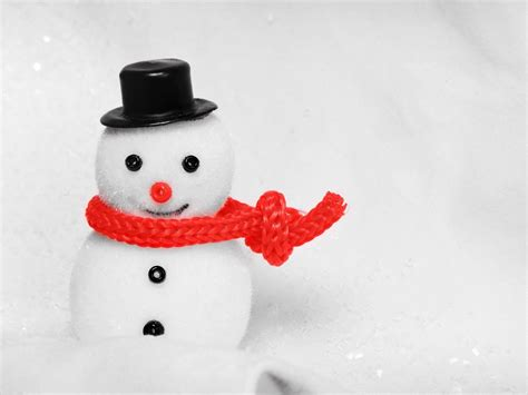wallpapers christmas snowman