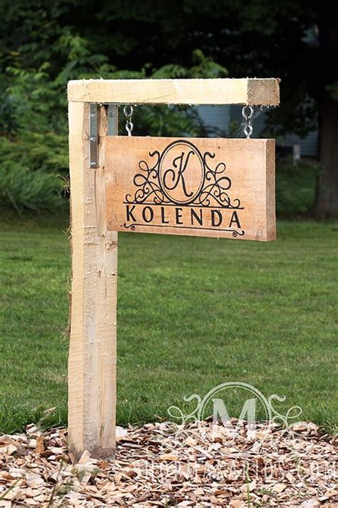 custom backyard signs outdoor signs signs and yards on