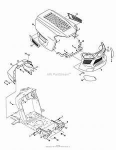 Mtd 13al78xt099  247 203740   T1600   2014  Parts Diagram