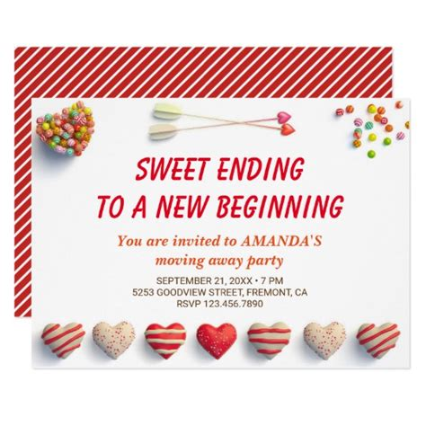 Cute Colorful Candies Farewell Party Invitation  Zazzlecom. Jobs For Political Science Graduates. Funny Graduation Cap Ideas. Chain Of Command Template. Unique Good Resume Template. Raffle Tickets Template Free. Record Label Website Template. Open Source Website Template. Fascinating High School Sample Resume