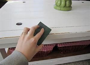 Técnica para envejecer un mueble