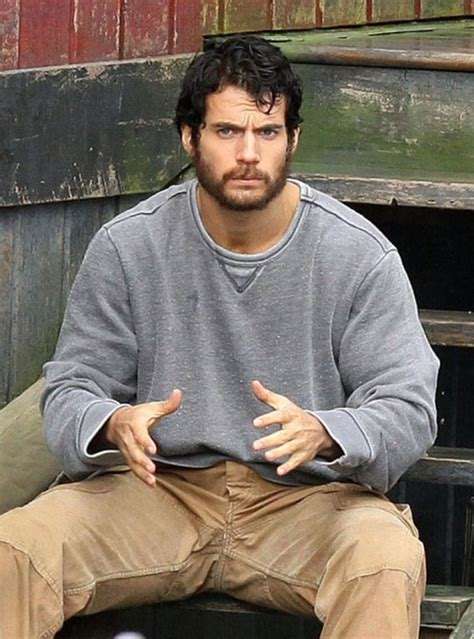 bearded heat l times clark kent falls on times with bearded henry cavill