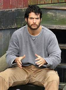 Clark Kent Falls on Hard Times with Bearded Henry Cavill ...