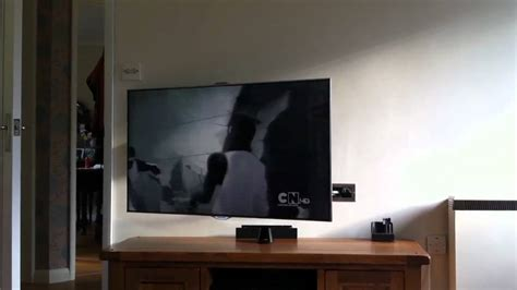 Vogels Thin 355 Motorised Wall Mount With Samsung