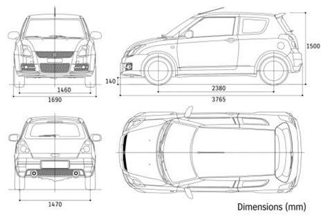 suzuki swift iv hatchback  dane techniczne