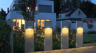 types of contemporary outdoor lighting for exterior house fence design antiquesl