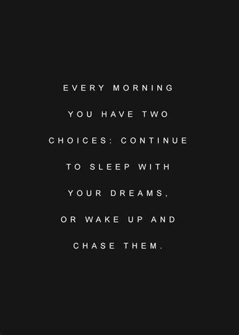 morning    choices continue sleep