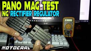 How To Test A Rectifier Regulator Using Multi Tester