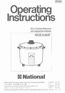 Download National Rice Cooker Sr