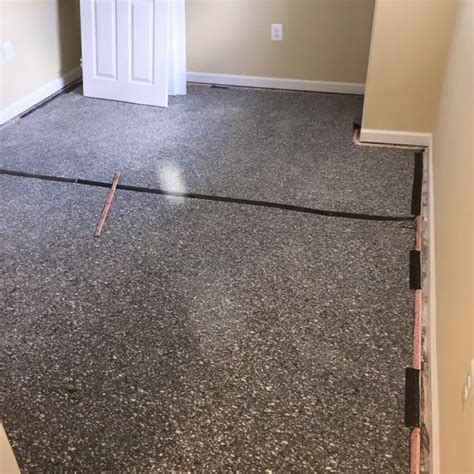 Basement Carpet Installation, Carpet Pad In Basement