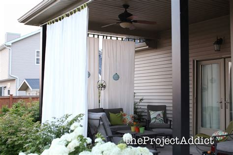 Outdoors Curtains : 17 Privacy Screen Ideas That'll Keep Your Neighbors From