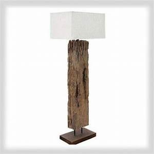 Driftwood light driftwood floor lamp lighting for Harbin wood floor lamp