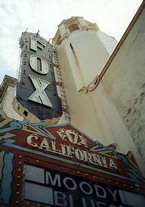 Fox Theater Stockton CA Bob Hope Theater Historic