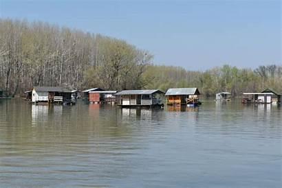 Wasser Haus Boathouse Lake Wallpapers Fluss Flut