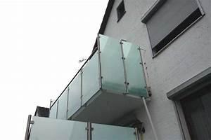 Milchglas Für Balkon : balkongel nder und sichtschutz aus edelstahl und ~ Markanthonyermac.com Haus und Dekorationen