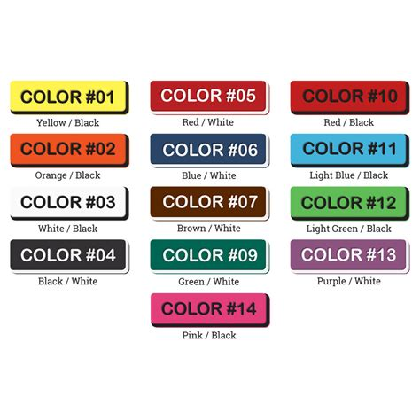 colored tags flat arrowhead dual colored tags ritchey tags