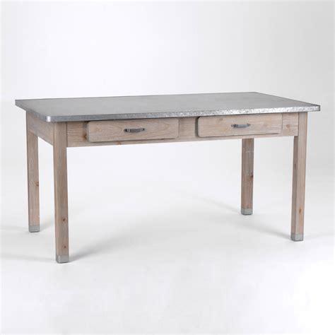 table cuisine tiroir table de cuisine avec tiroir maison design bahbe com