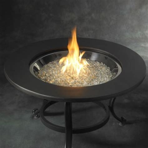 propane fire table glass fire pit with table top burner cover glass fire beads gas