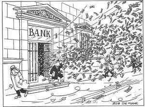 Info wanted: where was this bank cartoon first used and in ...