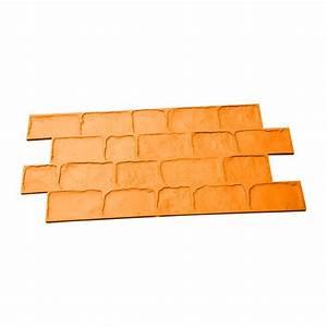 Dosage Ciment Pour Moulage : moule beton imprim pav s irr guliers harmony b ton ~ Melissatoandfro.com Idées de Décoration