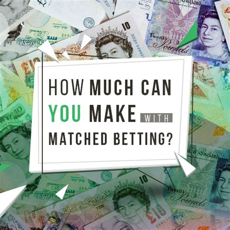 How Much Can You Make With Matched Betting  Mike Cruickshank
