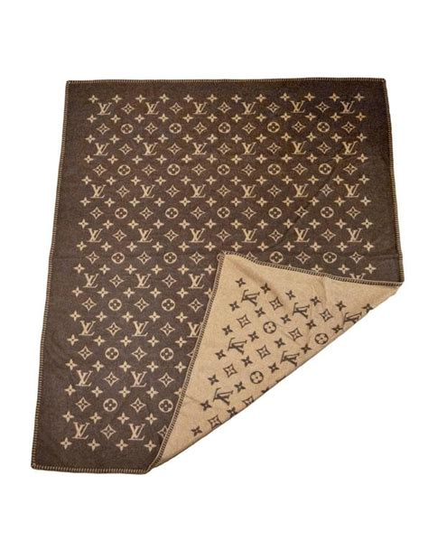 louis vuitton monogram wool blanket  box  sale  stdibs