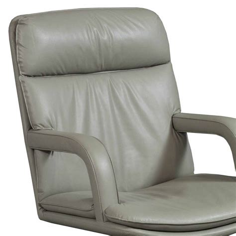 Used Leather Armchair by Used Leather Conference Chair Taupe National Office