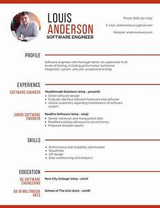 customize 298 professional resume templates online canva With professional software engineer resume
